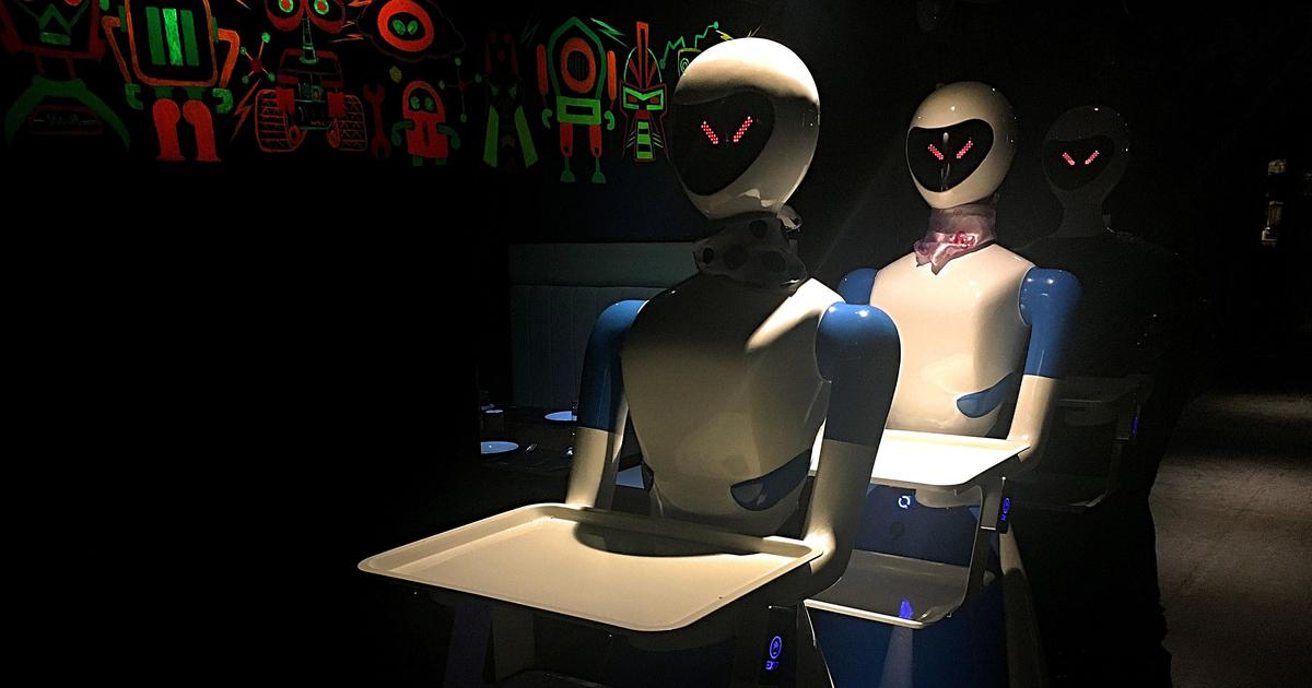 Are robots taking over the world? A restaurant in Chennai serves an answer