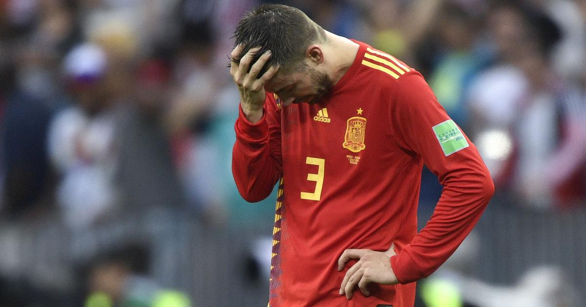 Spain centre-back Gerard Pique retires from international football
