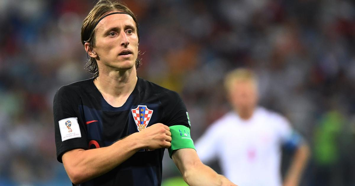 for croatia s luka modric the world cup final is the culmination of