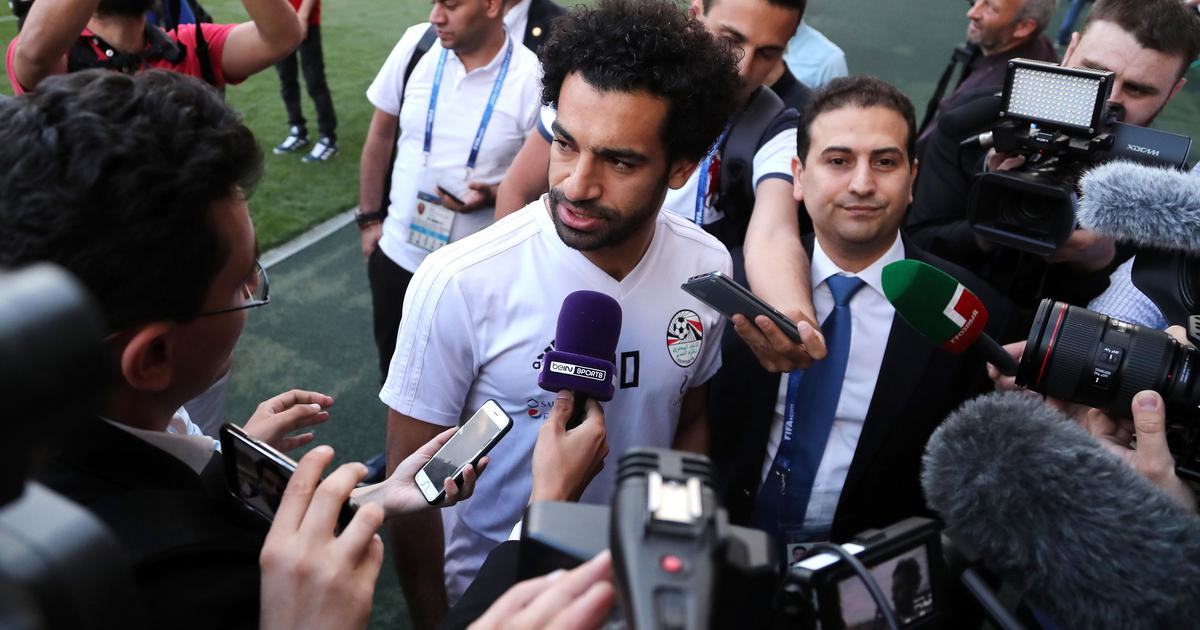Salah misses Egypt's first training session in Russian Federation