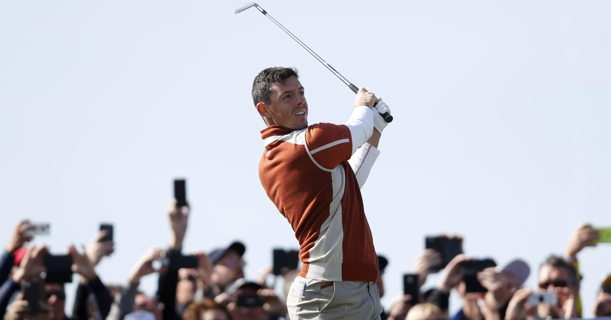 Golf: Rory McIlroy, Sergio Garcia help Europe take four-point lead over USA in Ryder Cup
