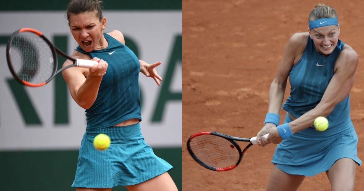 French Open, day 4 women's round-up: Halep survives scare, Wozniacki, Kvitova, Svitolina advance