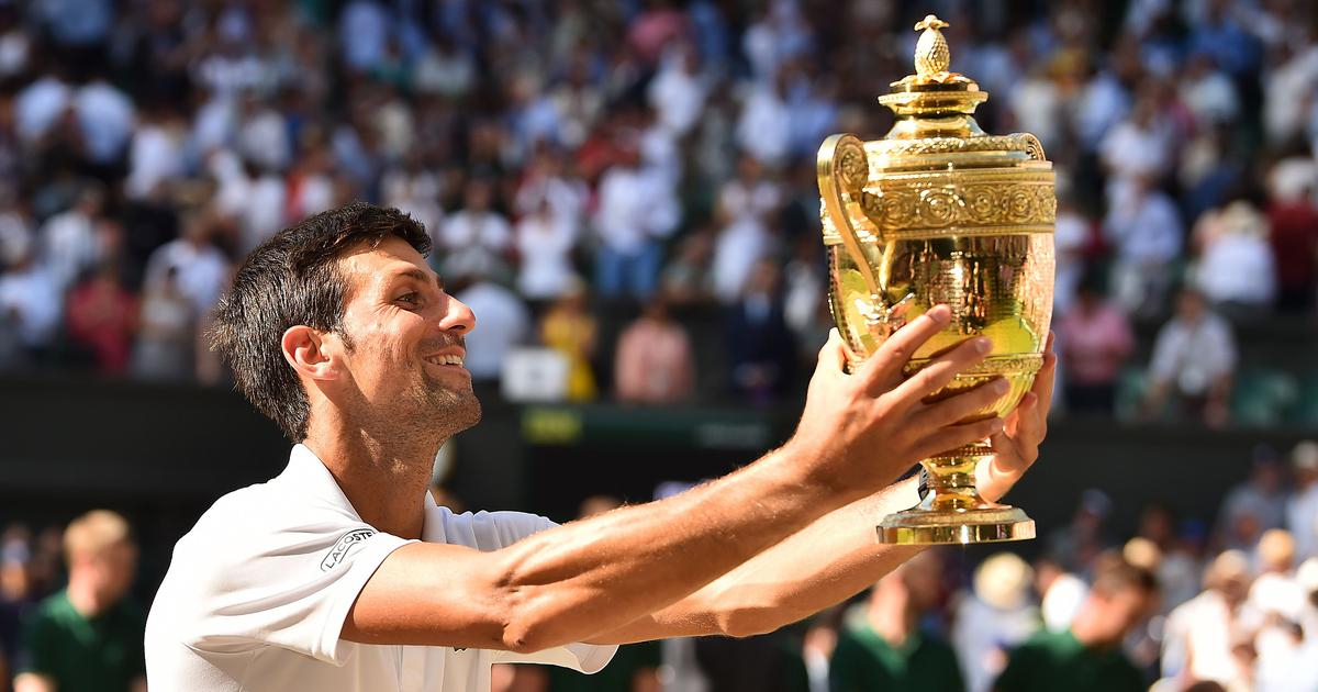 71e59b1ddcc71 Wimbledon champion Novak Djokovic finds his way back with after two ...