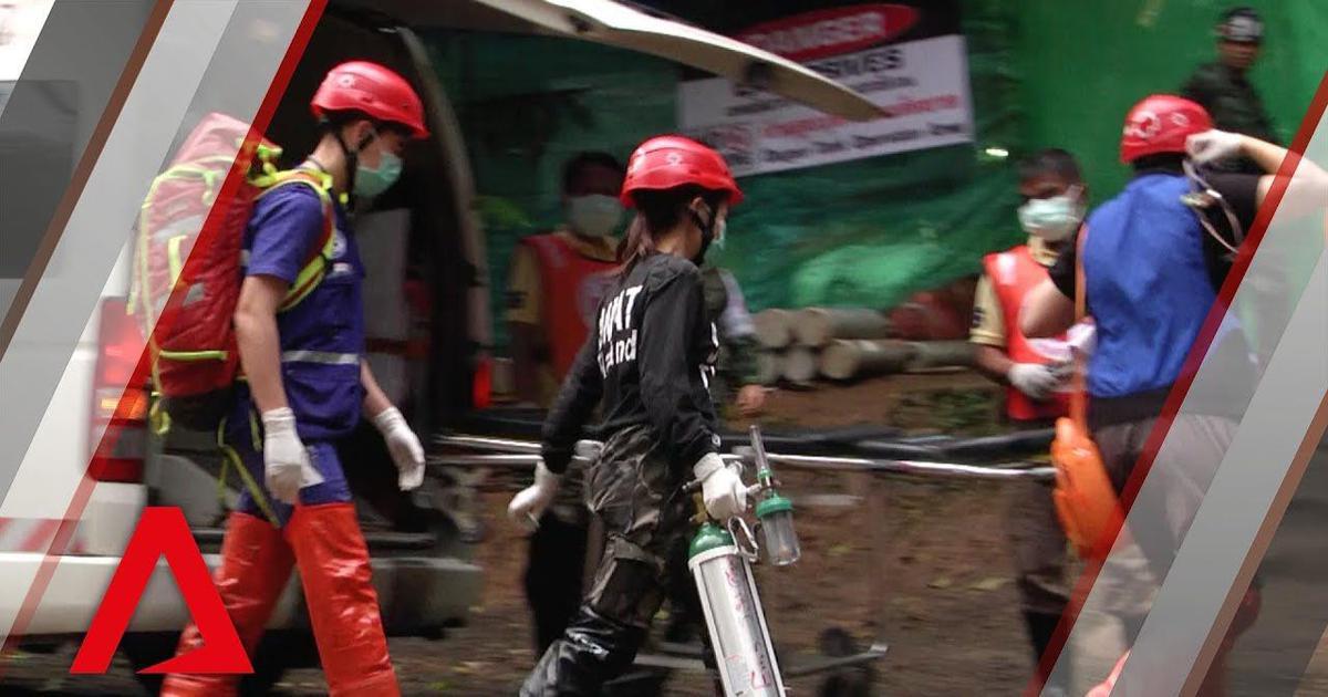 थाईलैंड : गुफा में दो हफ़्ते से फंसे चार और बच्चों को निकाला गया, अब तक आठ बचाए गए