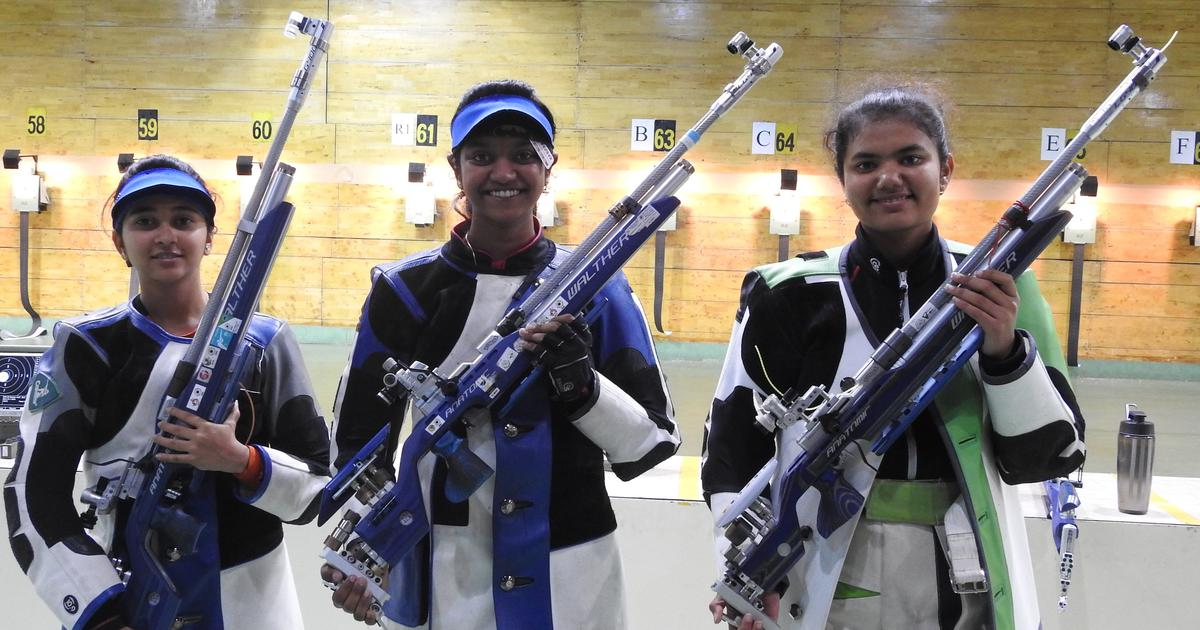 Elavenil Valarivan scores better than current world record to clinch gold in 10m air rifle trials