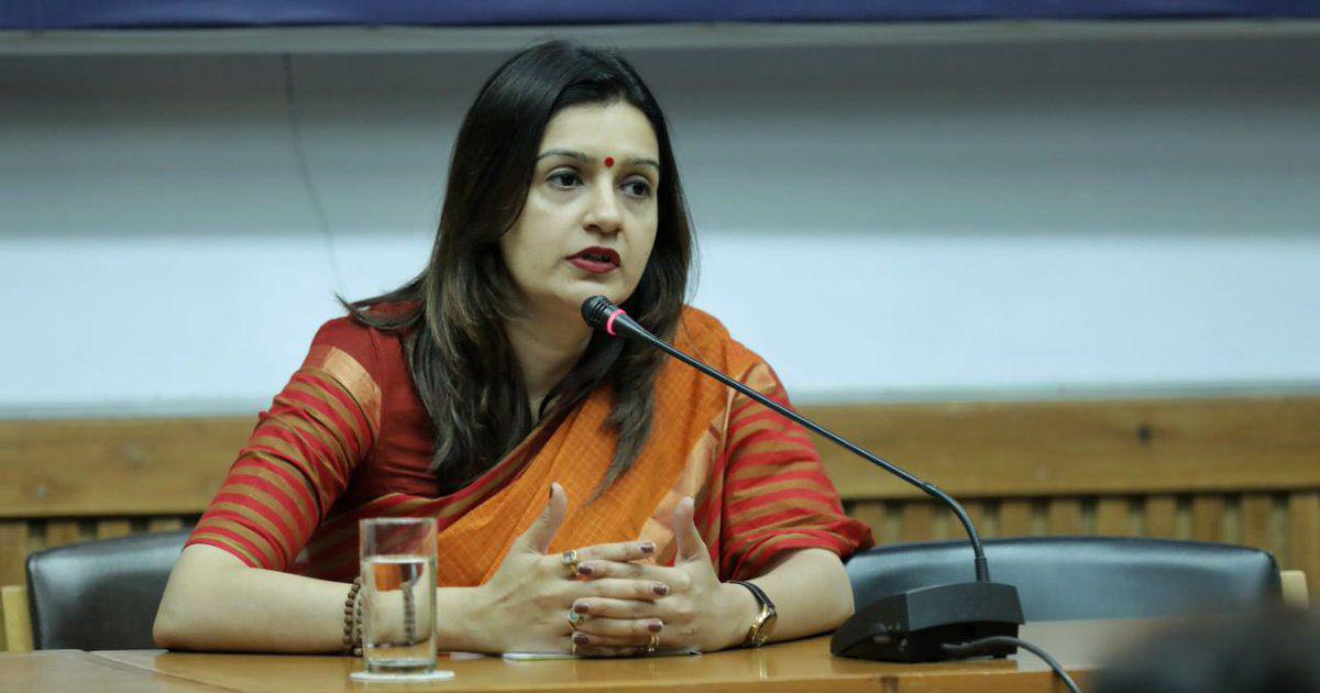 Congress' Priyanka Chaturvedi files complaint after getting rape threat against daughter on Twitter