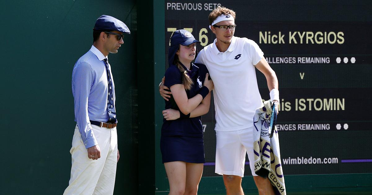 First Kyrgios, now Raonic: Wimbledon's ball kids in firing line of big servers on grass
