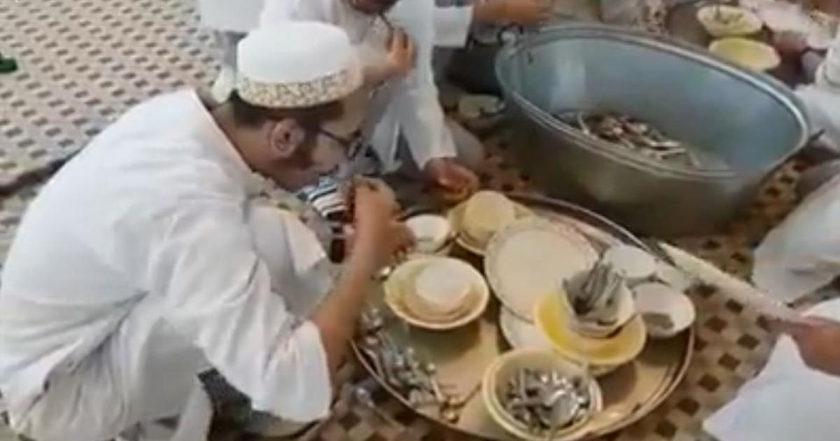 बक़रीद से पहले मुस्लिम समाज के खान-पान पर सवाल उठाने का ज़रिया बन रहे इस वीडियो का सच क्या है?