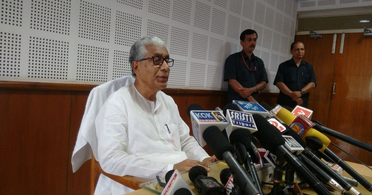 Tripura's Left government faces trouble as Supreme Court cancels the appointment of 10,000 teachers