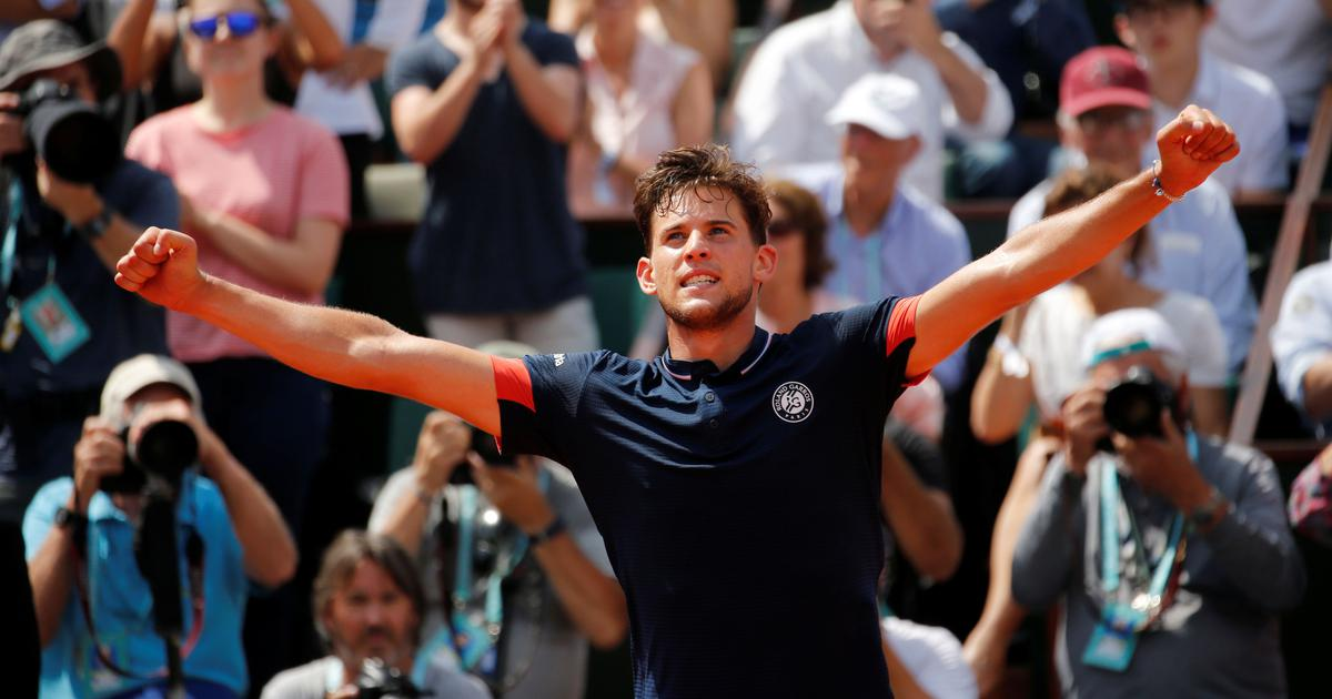 Dominic Thiem ends Marco Cecchinato's dream run to reach his first French Open final