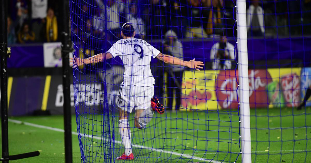 Watch: Zlatan Ibrahimovic scores 500th career goal with back-heel karate chop