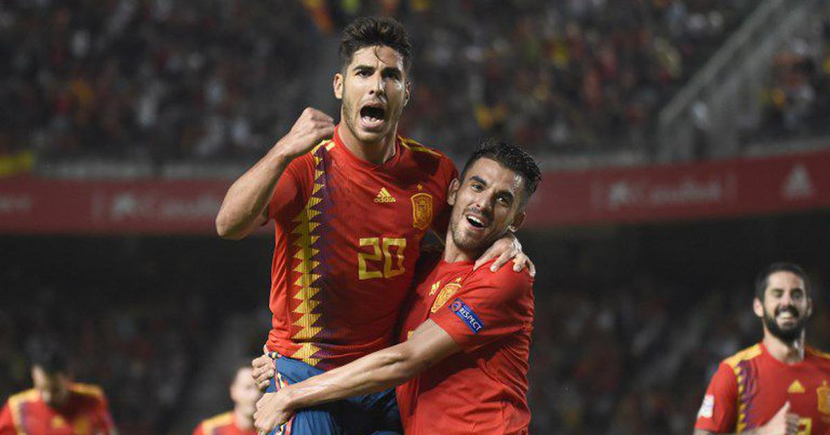 Marco Asensio stars in Spain's 6-0 thrashing of World Cup finalists Croatia in UEFA Nations League