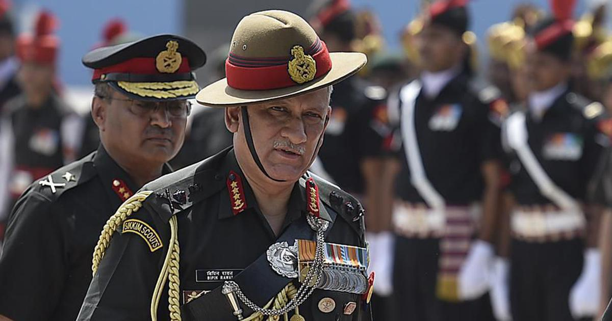General Bipin Rawat says Army can carry out drone strikes in Jammu & Kashmir if there is no backlash