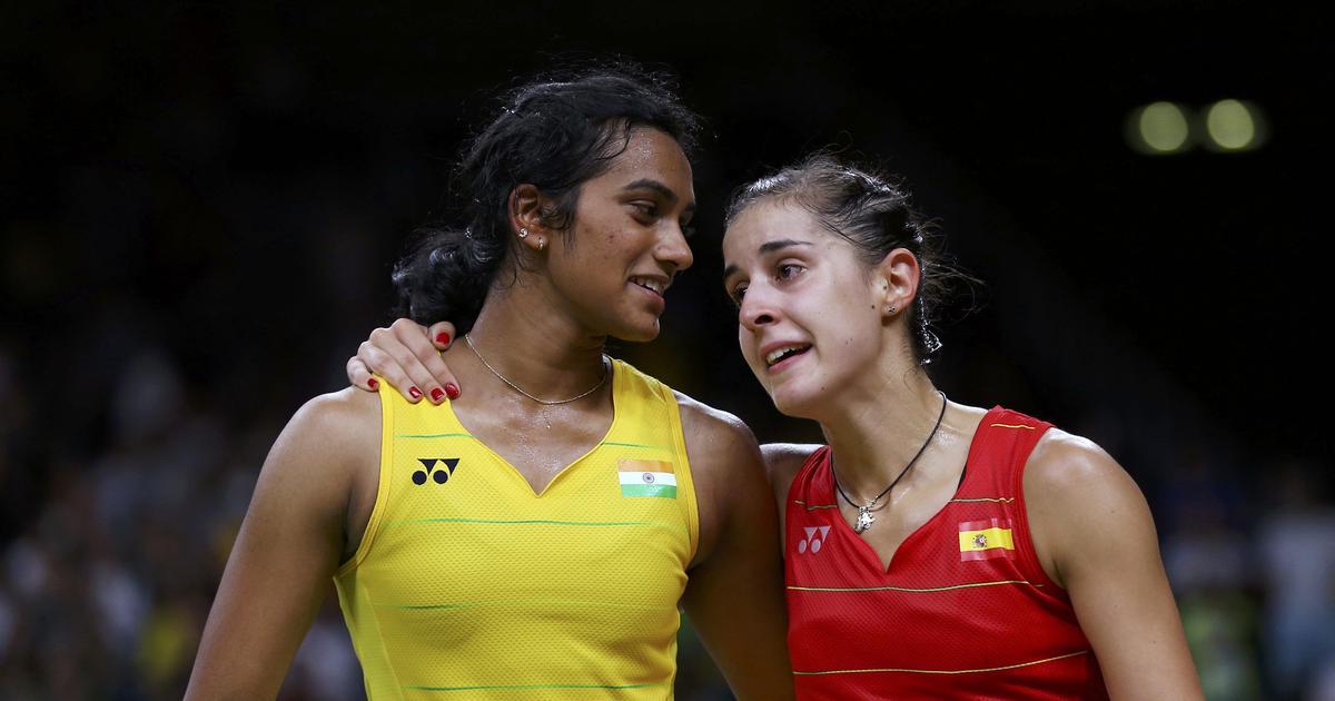 Watch: I will miss you at Tokyo Olympics, says PV Sindhu to Carolina Marin