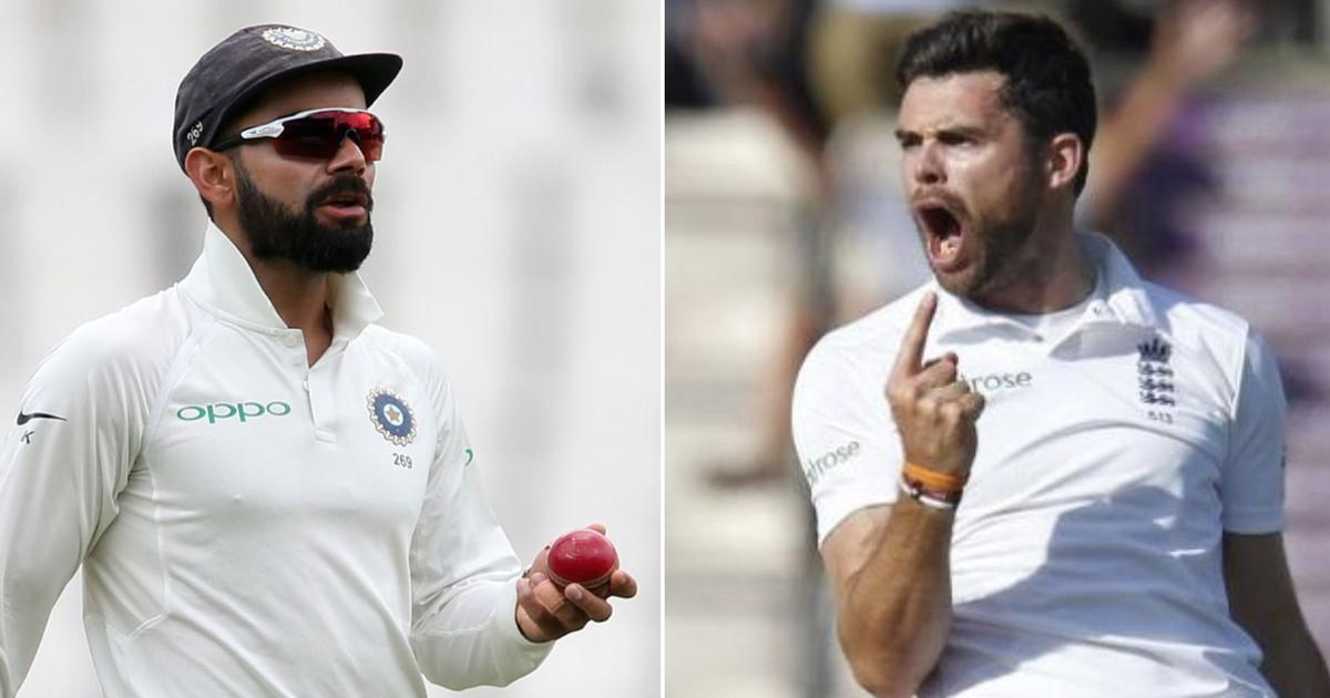 We'll go to bed dreaming about getting Kohli out first thing: Anderson positive about England win