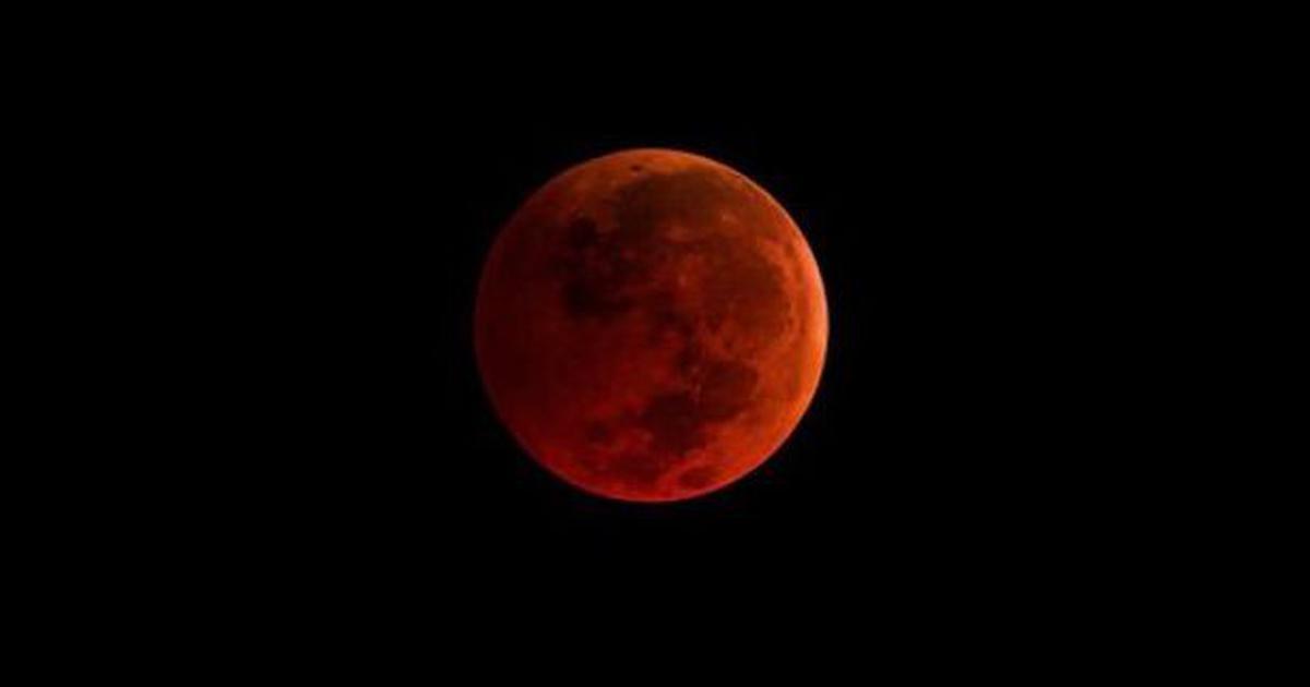 भारत समेत कई देशों में आज रात 'लाल चांद' दिखेगा