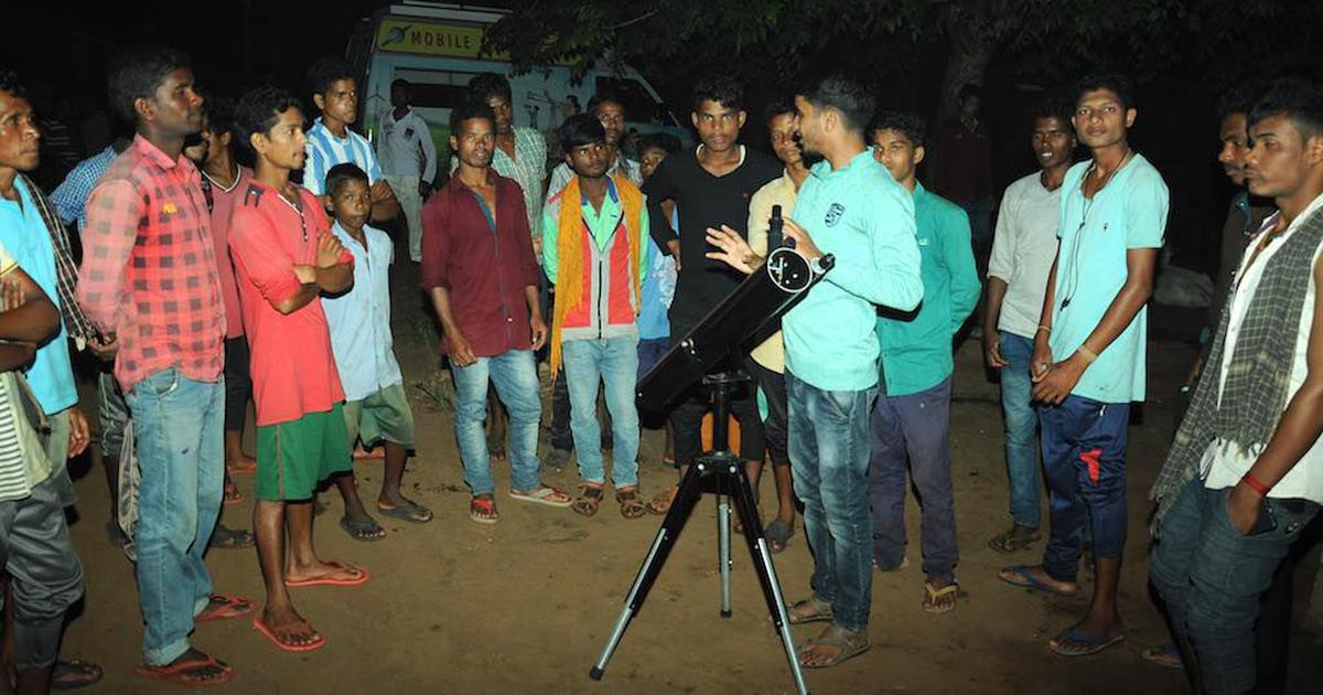 A mobile lab is rolling through Adivasi villages in Odisha, introducing locals to basics of science