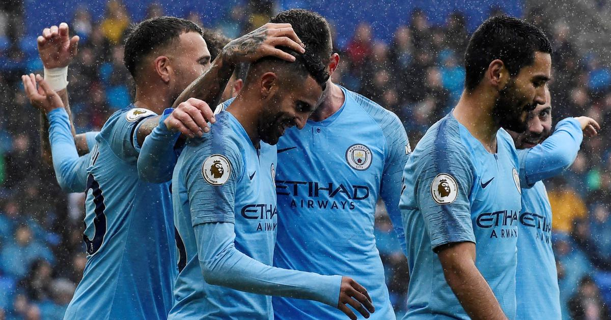 Premier League: Manchester City survive late Watford surge, Bournemouth move above United