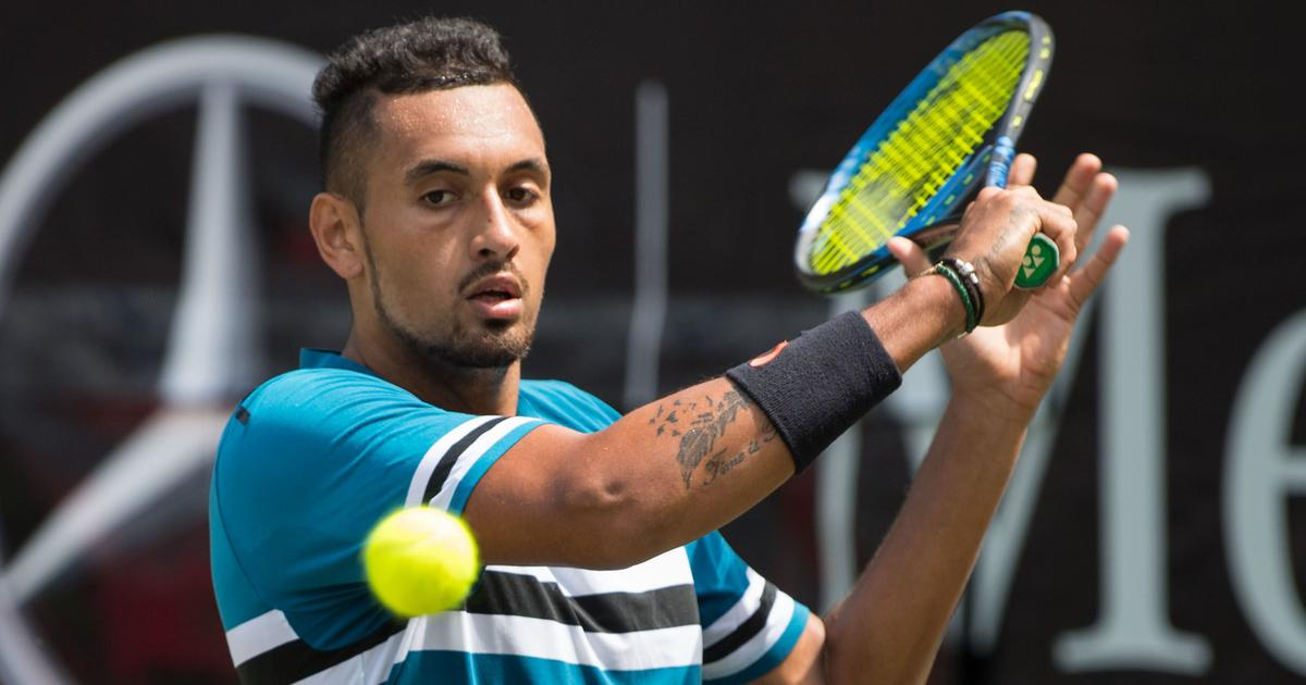 'It was a terrible match': Struggling Kyrgios digs deep to enter quarters at Stuttgart