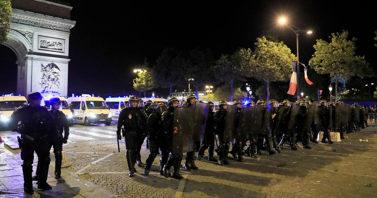 France to mobilise 110,000 police personnel during World Cup final weekend