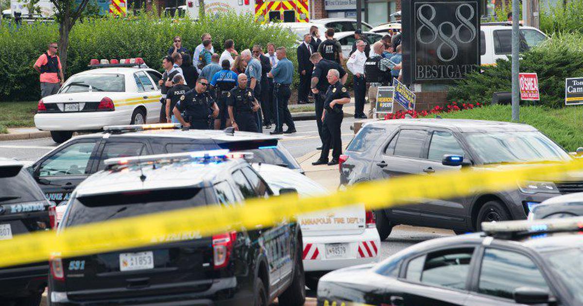अमेरिका : अखबार के दफ्तर में गोलीबारी, पांच की मौत
