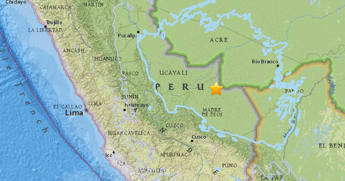 7.1-magnitude quake hits eastern Peru, no immediate casualties
