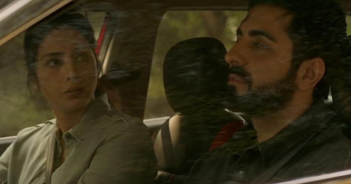 Seeing is believing in trailer of 'Andhadhun', starring Ayushmann Khurrana and Tabu