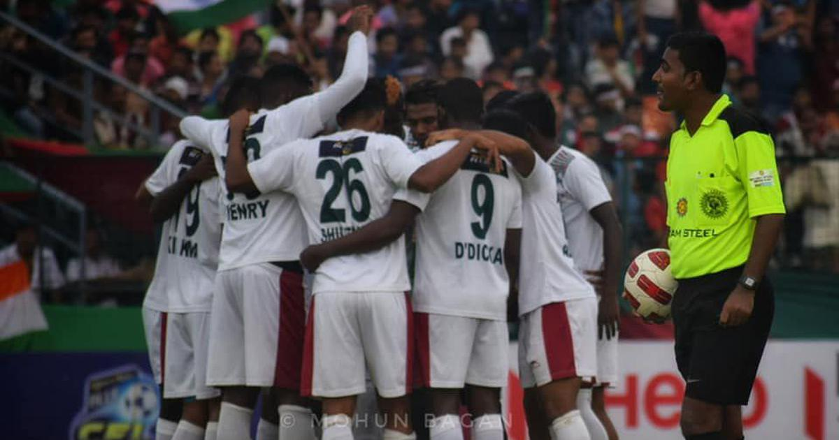 Football: Sony Norde comes to Mohun Bagan rescue to secure 1-0 win over Neroca FC in I-League