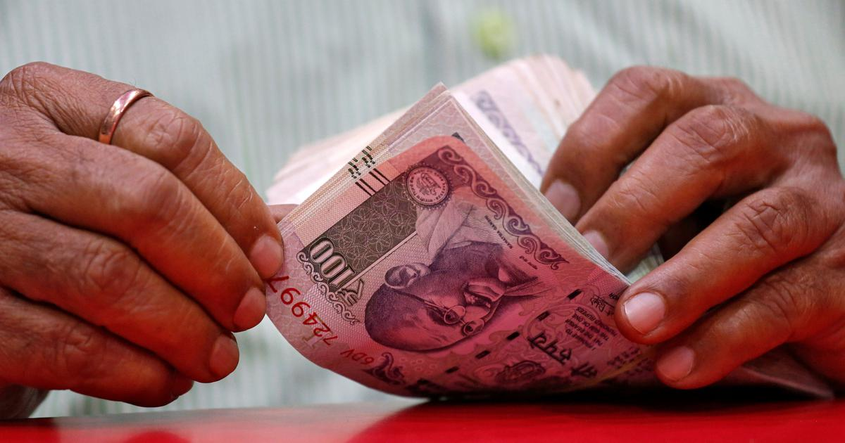 रुपये में ऐतिहासिक गिरावट, डॉलर के मुकाबले 71.21 के स्तर पर पहुंचा