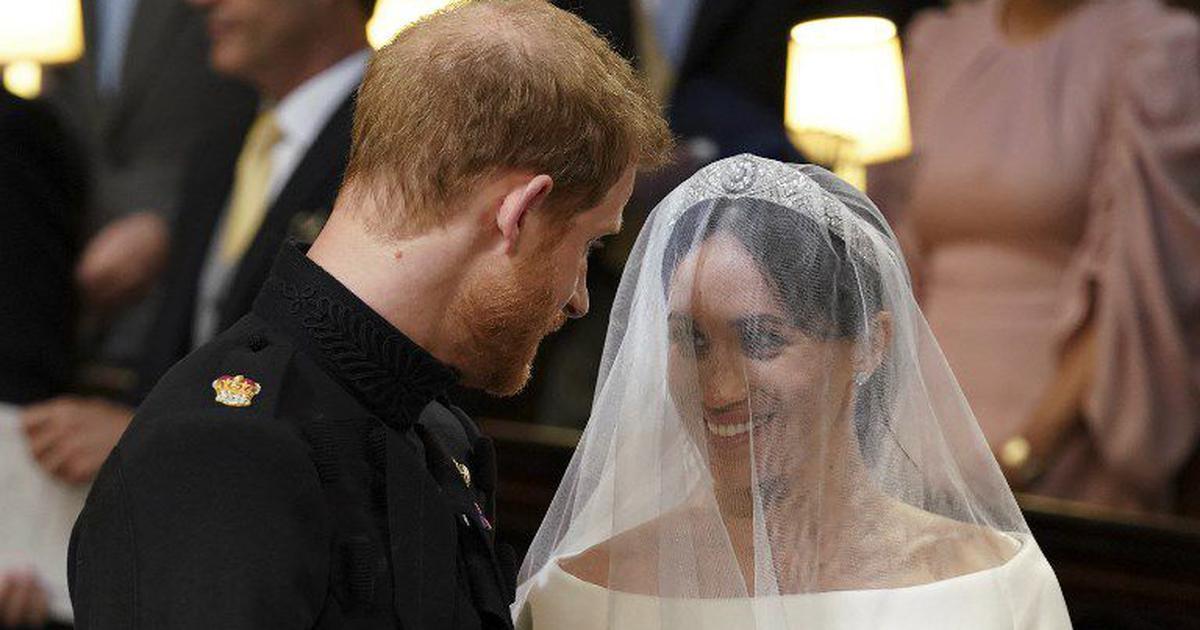 तस्वीरों में : प्रिंस हैरी और मेगन मर्केल की शादी