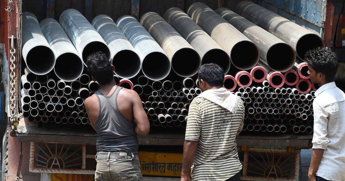 India's industrial output grows by just 4.4% in March, the slowest expansion in five months