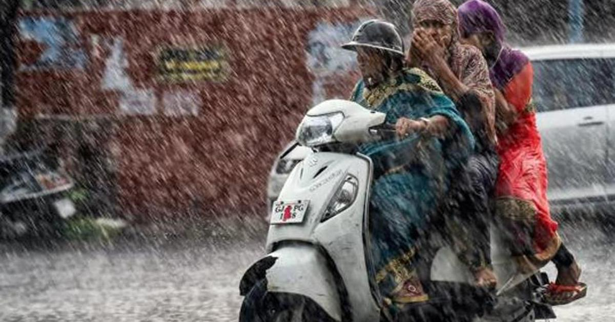 दक्षिण गुजरात में भारी बारिश, 600 लोग सुरक्षित स्थानों पर ले जाए गए
