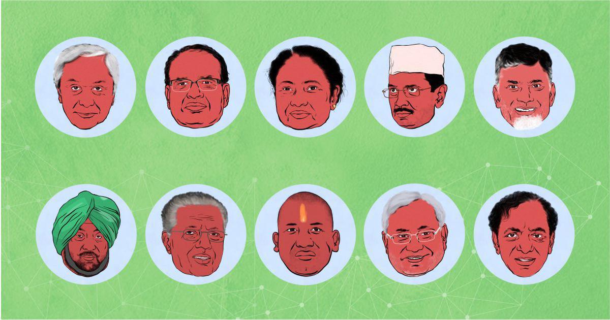 महामुख्यमंत्री-2018 : देश के सबसे ताकतवर और प्रभावी 10 मुख्यमंत्री