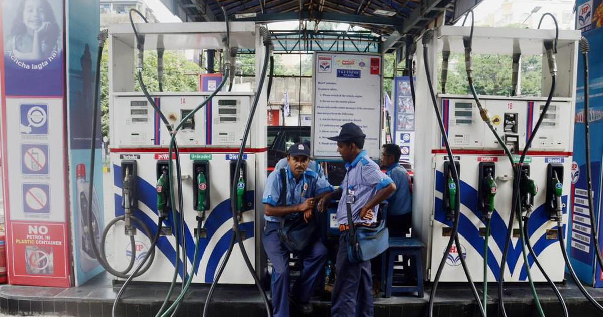 Petrol prices increased by Rs 9.21 per litre in 16 days, diesel rose by Rs 8.55