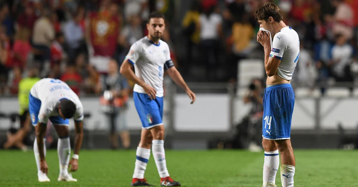 Young Italian players will struggle without game-time, says Roberto Mancini after Portugal loss