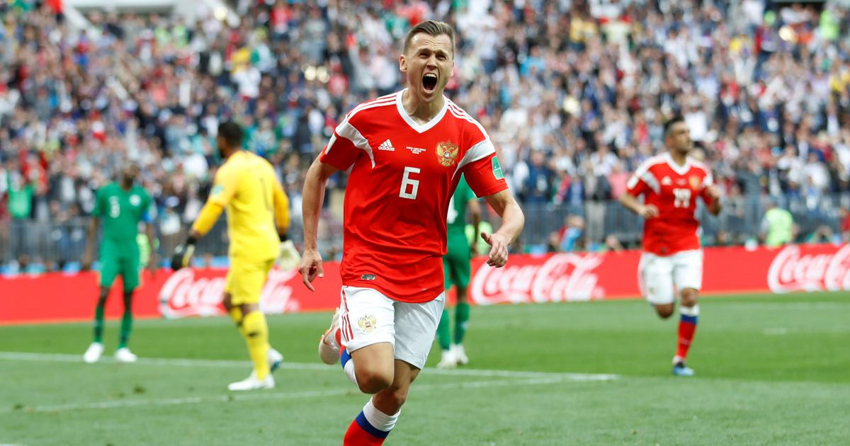 'I could never have dreamed of anything like this': Russia's Cheryshev on opening day brace
