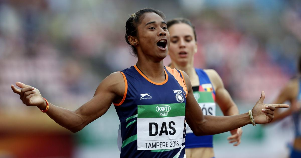 'I am living a dream': Hima Das over the moon after winning historic gold at U-20 Worlds