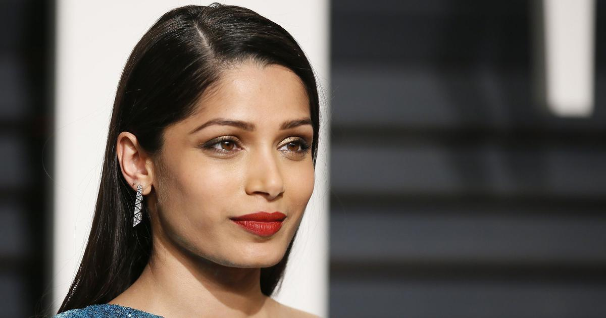 Freida Pinto interview...