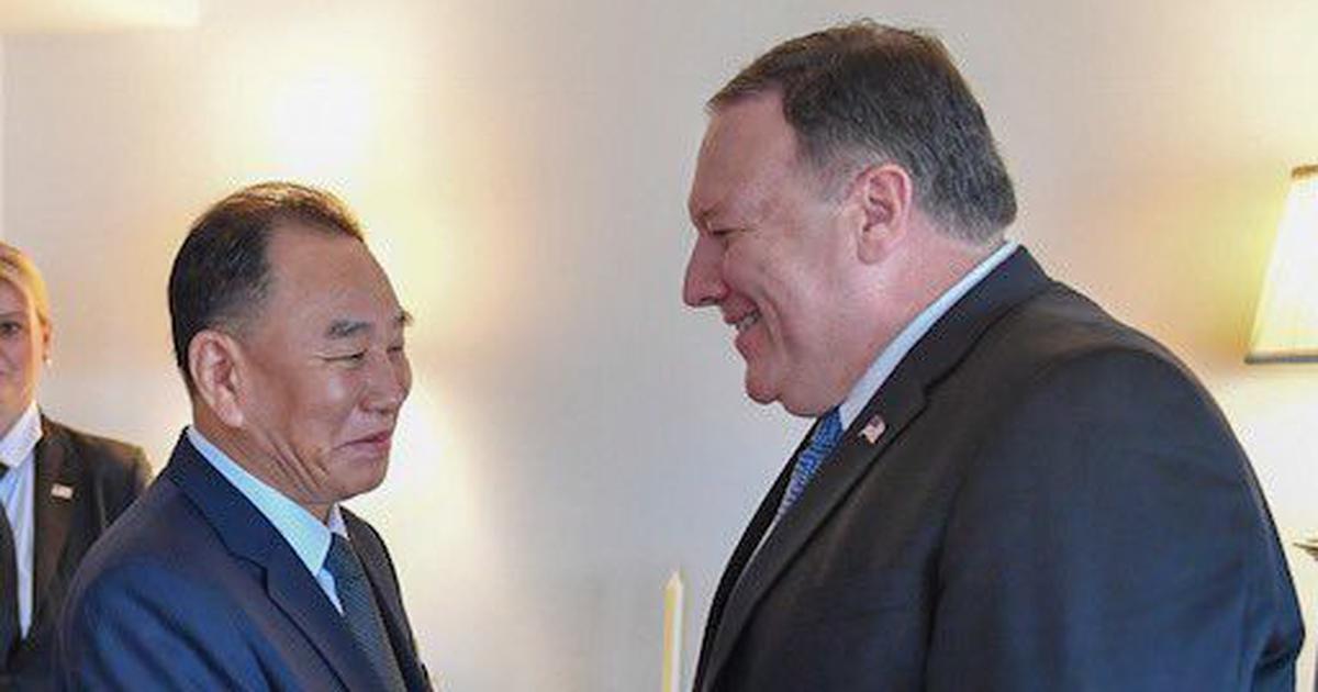 US secretary of state meets top North Korean official to discuss summit between Trump, Kim Jong-un