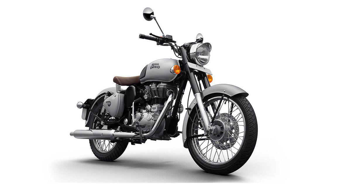 royal enfield 350 classic equipped with rear disc launched at rs
