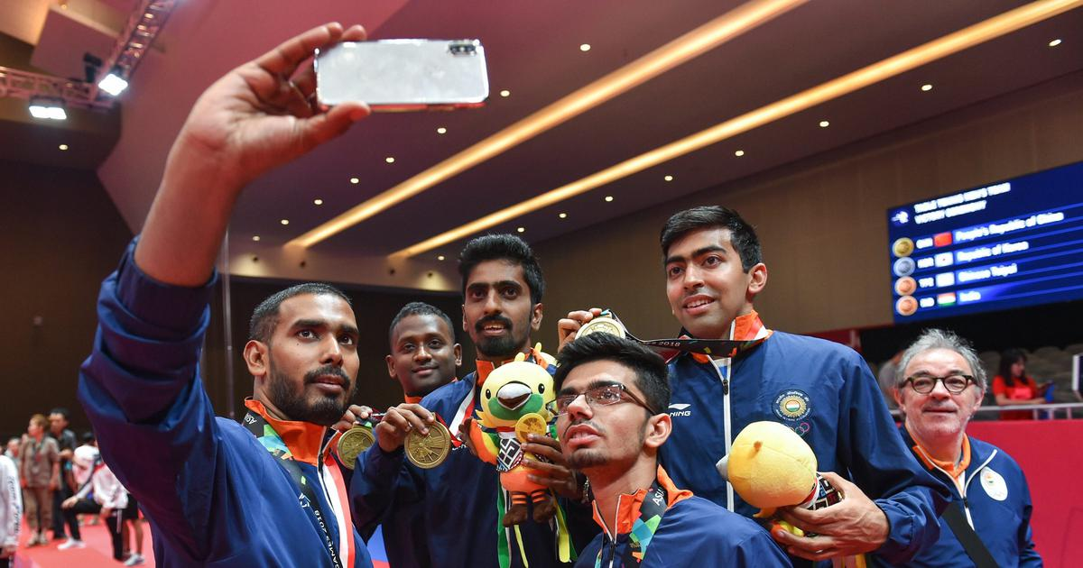Table Tennis Indian Men S Team Enters Top 10 In Latest Ittf