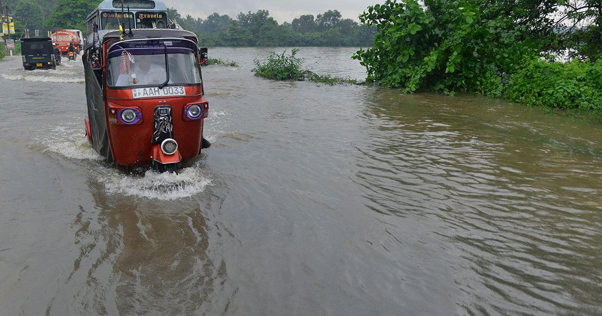 Saved by the text: Sri Lanka used early warnings to prepare people for the rains
