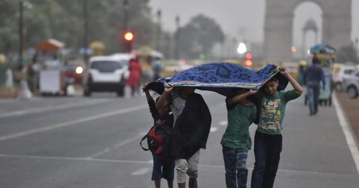 Rain in Delhi as Cyclone Tauktae weakens, weather department issues orange alert