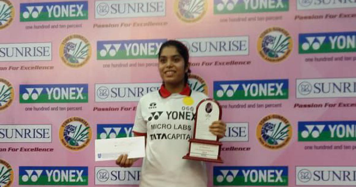 Badminton: Aakarshi Kashyap beats Malvika Bansod to win India Junior International title