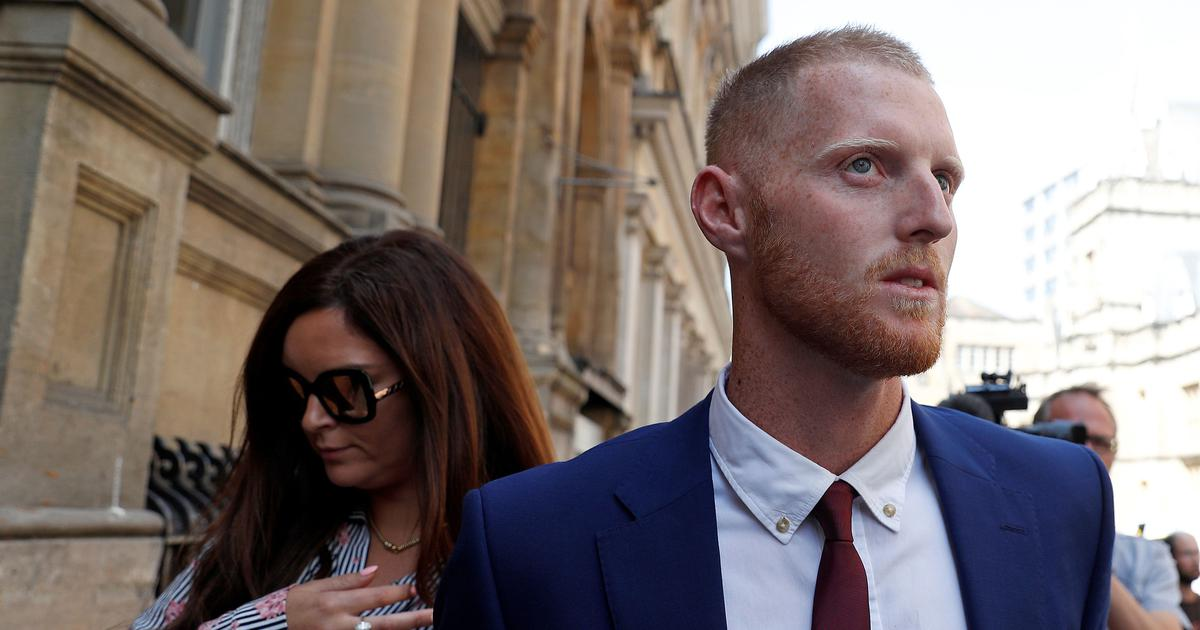 Jury in Ben Stokes trial shown video of 'groin grab' incident which preceded the brawl