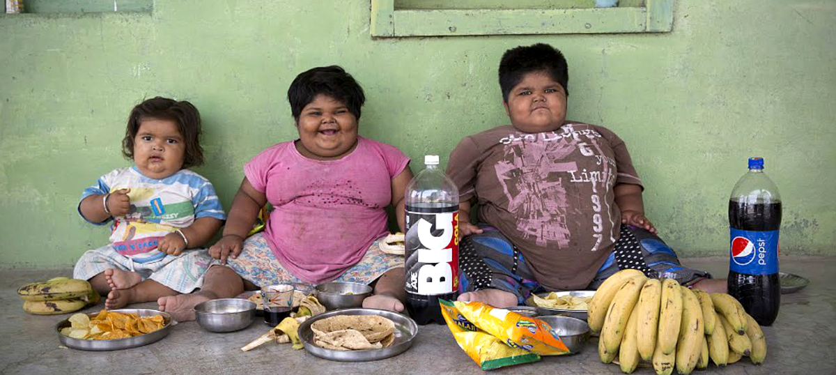 India has the second highest number of obese children in the world – 14.4 million of them: Study