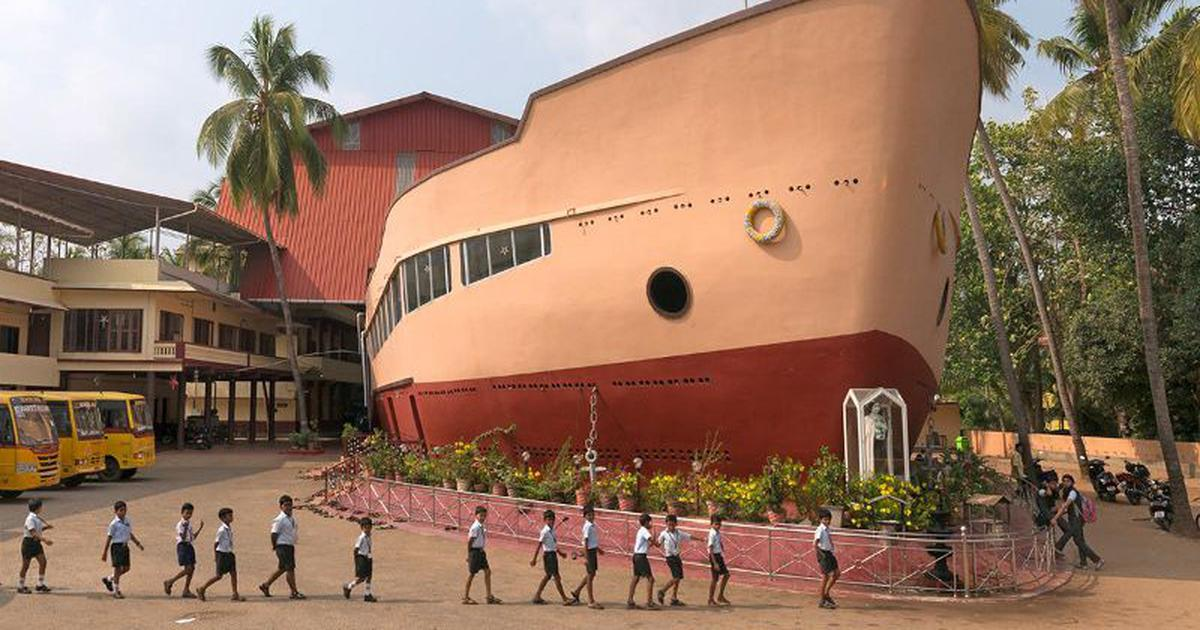 Photos: Why are some Kerala churches shaped like stars,  ships and castles?