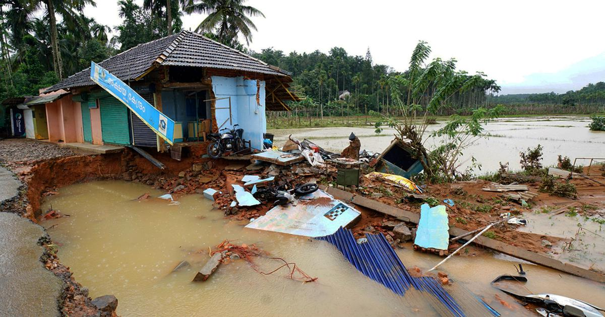 Kerala: Toll in rain-related incidents rises to 37, red alert issued in eight districts