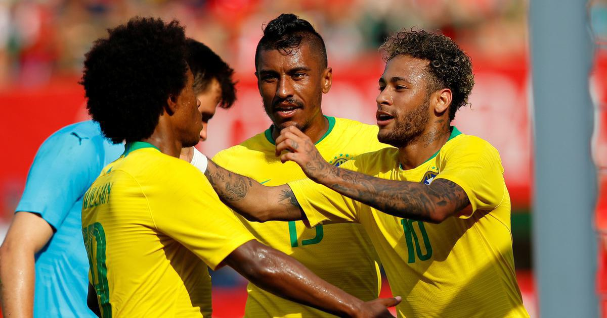 Brazil ties Switzerland in World Cup opener