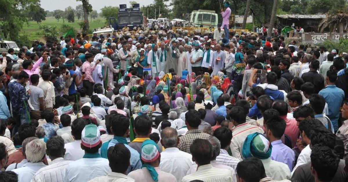 A year after police shot six farmers in Mandsaur, memorial events highlight unfulfilled demands